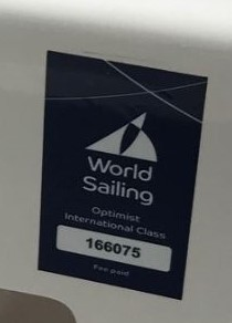 Sample World Sailing Plaque